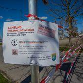 Corona-Verordnung: Bei Übertretungen drohen bis zu 30.000 Euro Strafe. B1