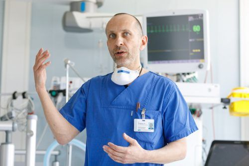 Intensivkoordinator Wolfgang List hofft auf eine hohe Impfbereitschaft.
