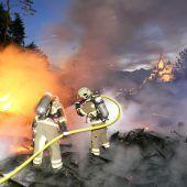 Waldbrand in Rankweil