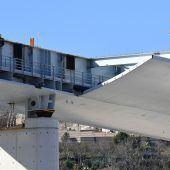 Neue Brücke für Genua