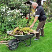 Gartenabfälle werden wieder angenommen