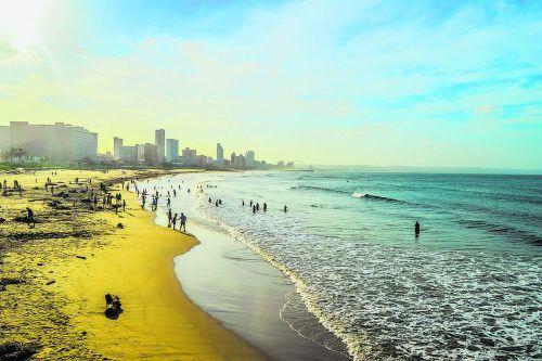 """Golden Mile"" nennt sich der berühmte Strandabschnitt in Durban.Shutterstock"