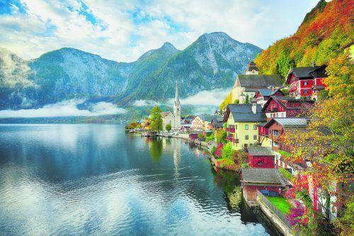 Hallstatt gehört zu den beliebtesten Touristenzielen im Salzkammergut.Shutterstock (2)
