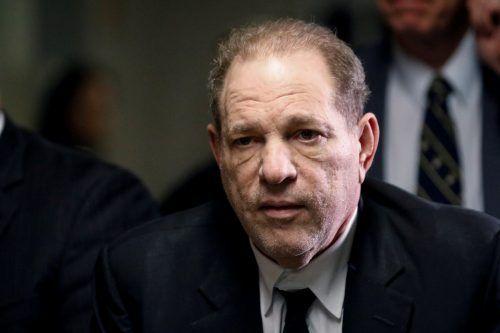 Harvey Weinstein wurde bereits Ende Februar zu 23 Jahren Haft verurteilt. RTS