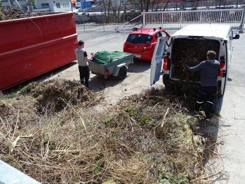 Im Altstoffsammelzentrum Bludenz in Brunnenfeld können seit dieser Woche wieder Abfälle abgegeben werden. Stadt