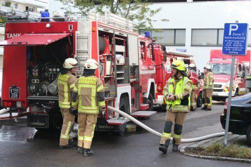 Im Schnitt rückt die Feuerwehr immer noch mehr als einmal am Tag aus.mima