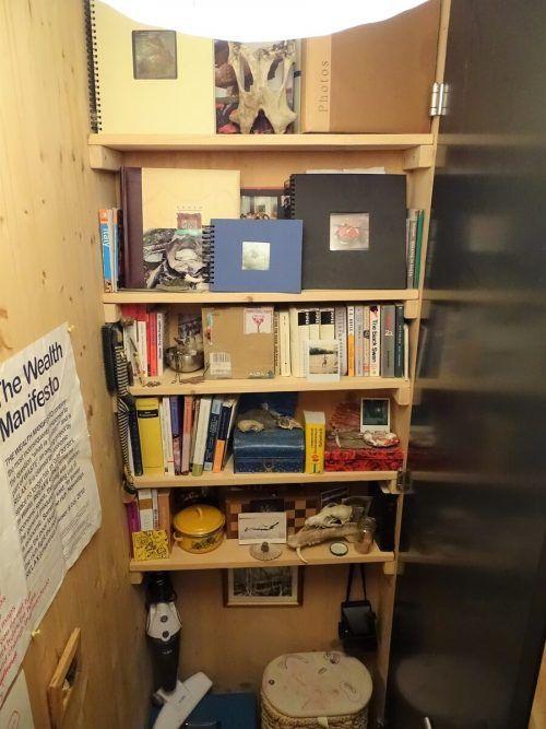 Julia Felder hat ihr Tiny-Haus selbst errichtet.