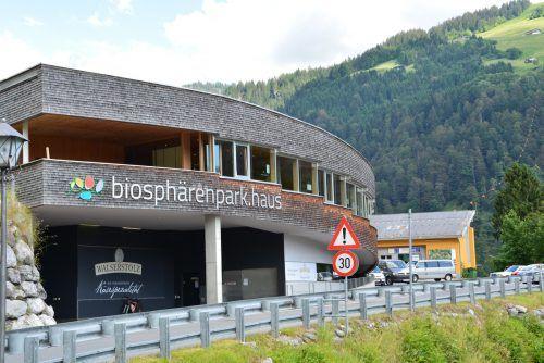 Langsam kehrt ins biosphärenpark.haus der Alltag zurück. biosphärenpark