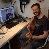 Auch Rheintalische Musikschule unterrichtet über das Internet