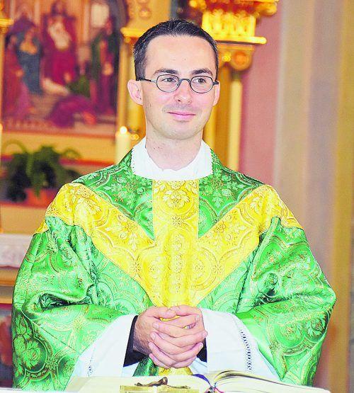 Lukas Bonner, Pfarrer im Innermontafon.                              Gemeinde Gaschurn