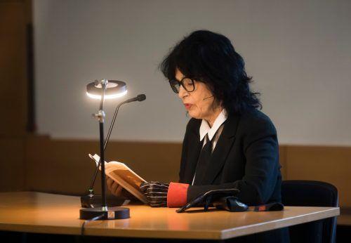 Monika Helfer im März bei der Lesung bei Russmedia.VN/RP