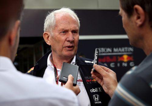 Red-Bull-Konsulent Helmut Marko sieht berechtigte Chancen, dass in Spielberg zwei Grand Prix stattfinden können. Reuters