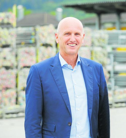 Reinhard Moser, Geschäftsführer des Bauunternehmens Hilti & Jehle. h&j
