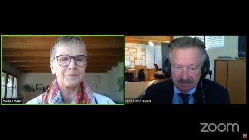 """""""Risikosituationen gilt es möglichst zu vermeiden"""", betonte Prof. Heinz Drexel im Gespräch mit VN-Redakteurin Marlies Mohr."""