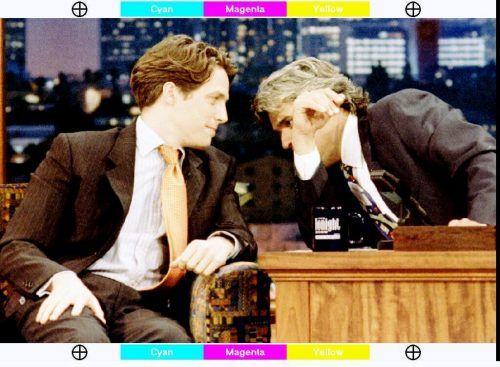 Schauspieler Hugh Grant stellte sich nach seinem peinlichen Auftritt im Auto zuerst Jay Leno. reuters