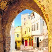 Verwinkelte Gassen und Altstadtcharme in Tanger