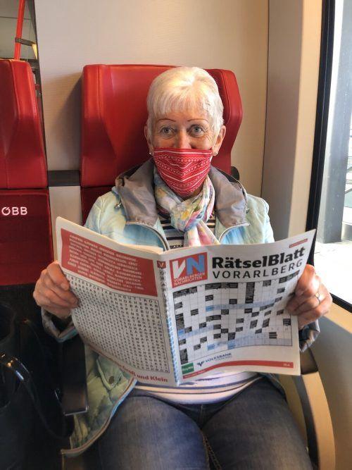 Sigrid Joos hofft, dass sich alle an die Maskenpflicht halten.