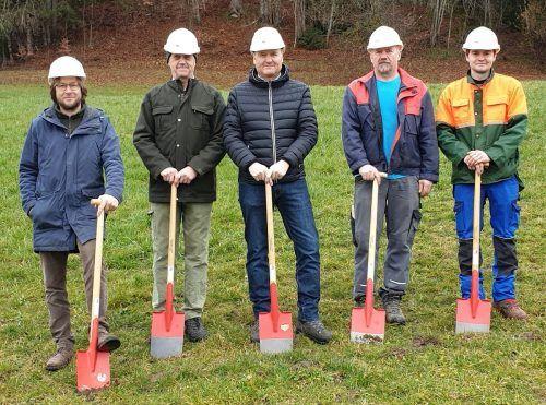 Start des Projekts zur Sicherung der Wasserversorgung in Doren.