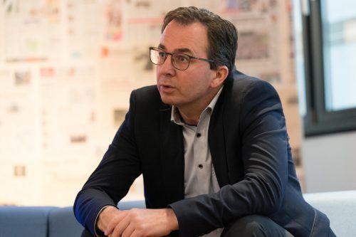 """Stefan Siegele: """"Wir sind ein sehr gesundes Unternehmen."""""""