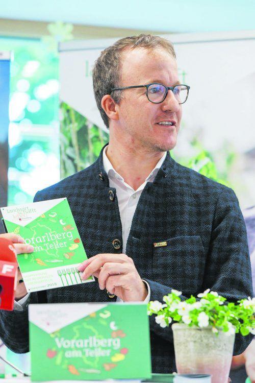 """""""Vorarlberg am Teller"""" zeichnet Betriebe aus, die auf regionale bäuerliche Produkte setzen. BERND HOFMEISTER"""