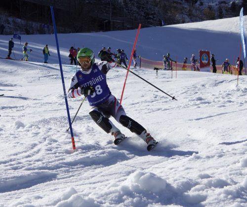 Zwei Titelgewinne und ein zweiter Platz gingen auf das Konto von Raimund Liesinger.vsv