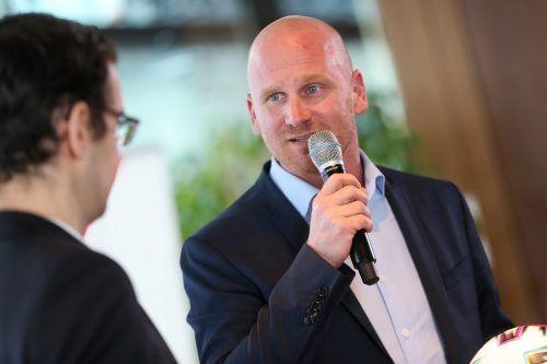 Auf Bundesliga-Vorstand Christian Ebenbauer wartet in den nächsten Tagen noch sehr viel Arbeit, will man den Ball in der Bundesliga wieder ins Rollen bringen.gepa