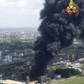 Explosion in Chemiefabrik