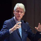 Ex-Präsident Bill Clinton schreibt mit Autor Patterson neues Buch