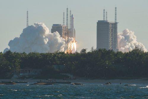 China will bis 2022 eine eigene Weltraumstation im All in Betrieb nehmen. AFP