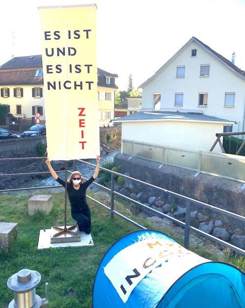 Das Kunstwerk wird ganz in der Nähe des Emsbachs aufgestellt.