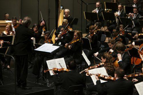 Das Symphonieorchester Vorarlberg erfährt viel Unterstützung durch die Abonnenten, wird aber zusätzlich durch Ungewissheit über die Rahmenbedingungen behindert. SOV/Mathis