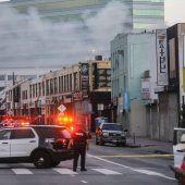 Verletzte nach Explosion und Großbrand in Los Angeles