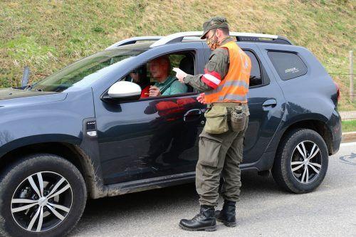 Der Großteil der Miliz wird an der Grenze zu Liechtenstein, der Schweiz und Deutschland stehen.Markus Koppitz, Vzlt