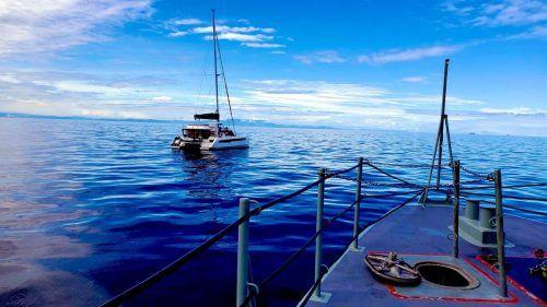 Der Mann wurde im Pazifik gerettet und konnte in Fidschi an Land. FMSRCC