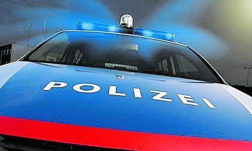 Der Suchscheinwerfer auf dem Blaulichtbalken des Dienstfahrzeuges war laut Polizei beim Vorfall eingeschaltet. BMI