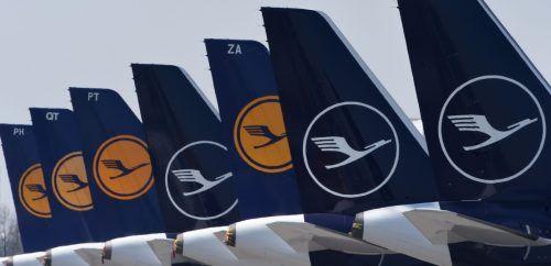 Die Bundesregierung und die Lufthansa ver-handeln seit Wochen über Staatshilfen. AFP