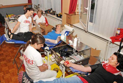 Die Höchster Blutspendeaktion findet heuer erstmals im Pfarrzentrum statt. ajk