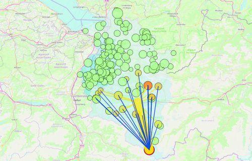 Die interaktive Karte ist unter http://VN.AT/sujqkB erreichbar. CSH Vienna