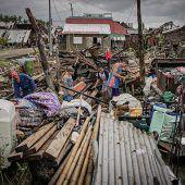 Taifun forderte fünf Todesopfer