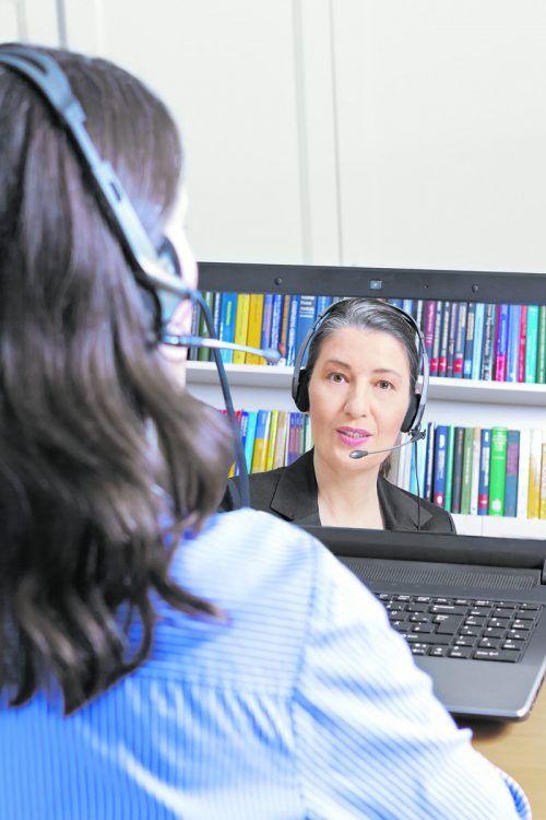 Die virtuelle Kommunikation ist auch bei Jobbewerbungen zur Norm geworden.Adobe