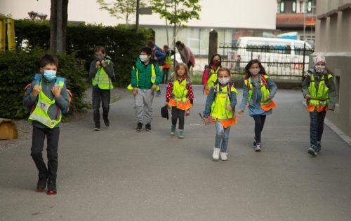 Wie werden unsere Kinder im Herbst ins neue Schuljahr starten? Geplant ist die Rückkehr zum Regelbetrieb. Doch sicher ist nichts. VN/Paulitsch