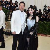 Elon Musk wurde erneut Vater