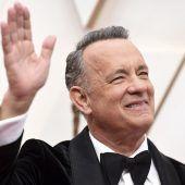 Tom Hanks als Gratulant