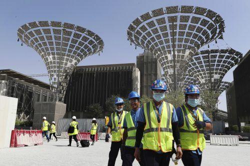 """Für die """"Expo 2020"""" hofft Dubai auf 25 Millionen Besucher. AP"""