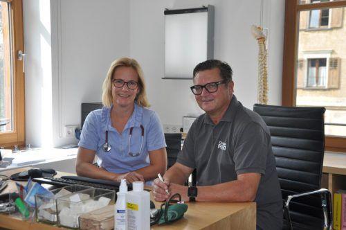 Haben ab heute, Montag, geöffnet: Dr. Lindner und Dr. Grotti. Privat