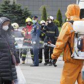 Fünf Tote bei Brand in Krankenhaus in St. Petersburg