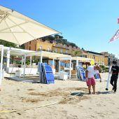 Strandurlaub nur unter strengen Auflagen