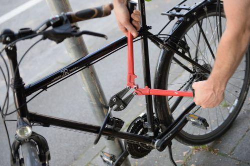 In Vorarlberg wurden 2019 wieder mehr Fahrräder gestohlen. APA