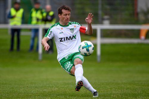 Langenegg-Spieler Klaus Schwärzler ist einer der zwei neuen Obmänner.VN-Lerch