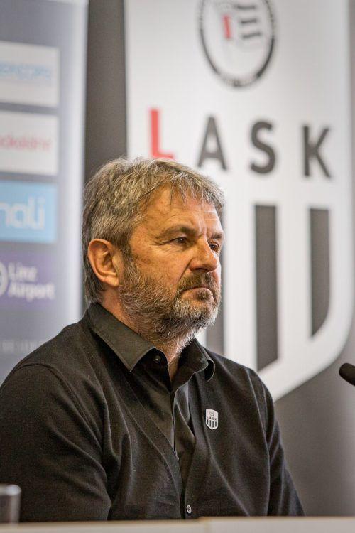 LASK-Mastermind Jürgen Werner bot seinen Rücktritt an.gepa